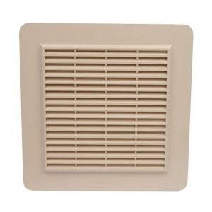 Nicoll Grille façade applique horizontale moustiquaire 200cm² blanc GAPM2B -