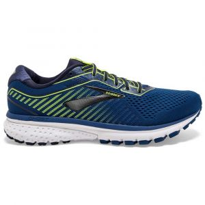 Brooks Chaussures running Ghost 12 - Blue / Navy / Nightlife - Taille EU 45