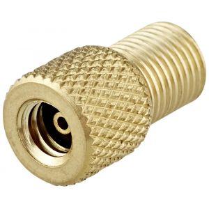 XLC Adaptateur valve/vis - pompe schrader en pompe dunlop Or Accessoires pompe