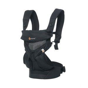 Ergobaby Porte-bébé 360 noir 4 positions mesh