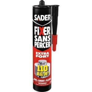 Sader Fixer sans percer cartouche 310 ml
