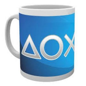 Mug Playstation 4 Silver Buttons
