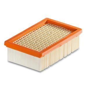 Kärcher 2.863-005.0 - Filtre plissé plat pour les aspirateurs MV4/MV5/MV6