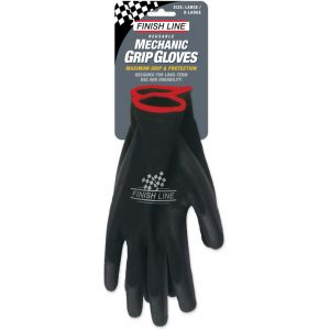 Finish Line Gants Mechanic Grip - Large/X-Large Gants jetables