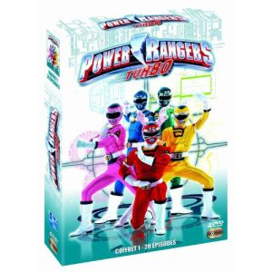 Coffret Power Rangers : Turbo - 4 DVD - Partie 1