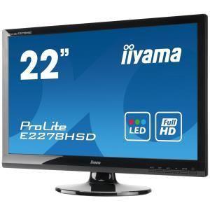 """iiyama ProLite E2278HSD-1 - Ecran LED 22"""""""