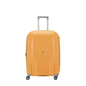 Delsey Valise extensible à 4 roues Clavel Taille L 70 cm Jaune