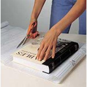 Clairefontaine Rouleau couvre-livres adhésif repositionnable (2 x 0,45 m)