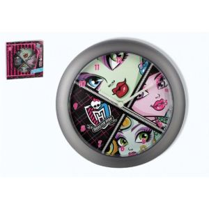 Horloge murale ronde Monster High 25 cm