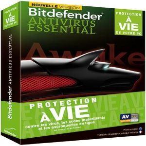 Bitdefender Antivirus Essential 2014 (Protection à vie) [Windows]