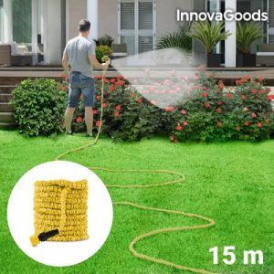 Innova Goods Tuyau d'Arrosage Extensible 15 m