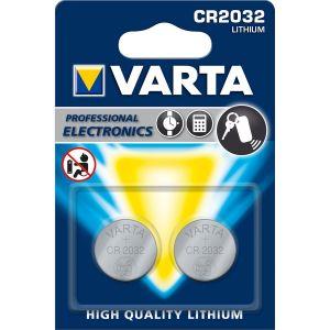 Varta CR2032 X2 - Pile électronique