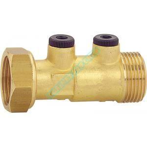 Watts Industries 2224110 - Clapet anti-pollution purge mâle-femelle 20x27 type wf