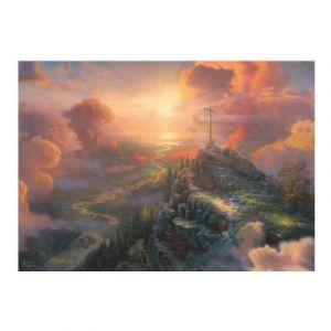 Schmidt Puzzle 1000 pièces : La croix - Spirit, Thomas Kinkade - Mixte