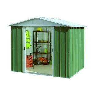 Yardmaster 67GEYZ - Abri de jardin en métal 3,85 m2