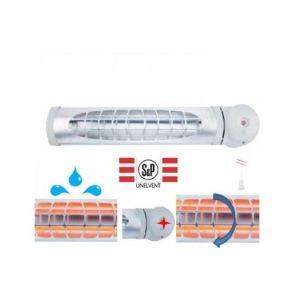 Unelvent 670010 - Chauffage infrarouge de salle de bain 1200 Watts