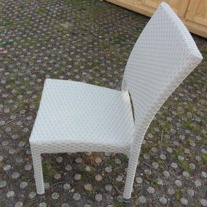 Art & Jardin 6 chaises de jardin Astona en résine tressée