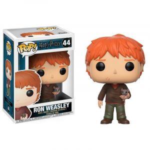 Funko Figurine Pop! Harry Potter : Ron Weasley avec croûtard