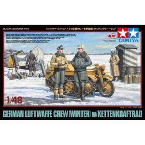 Tamiya 32412 Luftwaffe & Kettenkraftrad