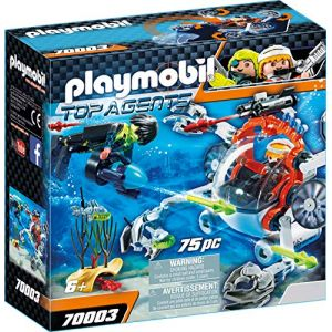 Playmobil 70003 - Robot sous-marin Spy Team