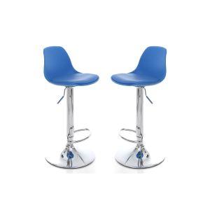 tabouret de bar bleu comparer 449 offres. Black Bedroom Furniture Sets. Home Design Ideas