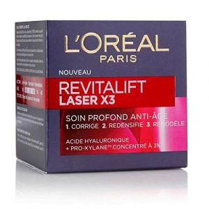 L'Oréal Revitalift Laser X3 Soin Crème de Jour Anti-Âge Acide Hyaluronique