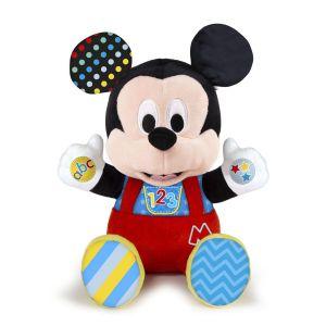 Clementoni Disney Baby - Peluche d'activités Mickey - Jeu d'éveil
