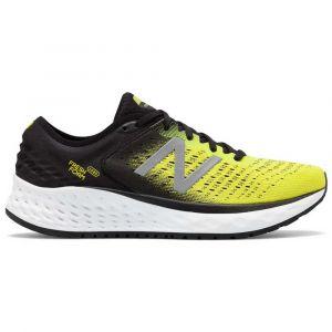 New Balance Chaussures running New-balance Fresh Foam 1080v9 - Black / Yellow / White - Taille EU 45