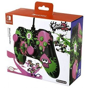 Manette filaire Nintendo Switch Iconic Splatoon
