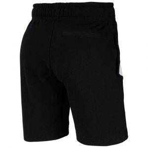Nike M NSW Hbr Short Ft Stmt Homme, Noir/Blanc, XL