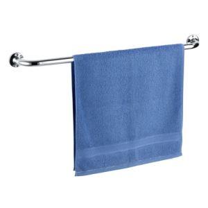 Wenko Porte serviette avec 1 barre fixe en inox (80 cm)
