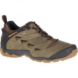 Merrell Cham 7 GTX, Chaussures de Loisirs et de randonnée pour Hommes, Dusty Olive