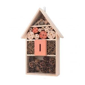 Hôtel à insectes bois 48 cm
