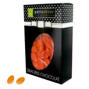 Patisdécor Dragées chocolat orange capucine - 500g
