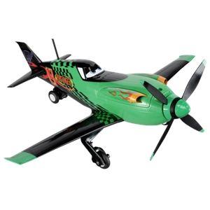 Majorette Avion radiocommandé Disney Driving Planes Ripslinger