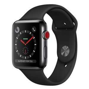 Apple Watch 38mm Series 3 GPS Cellulaire - Boîtier Acier avec bracelet Sport ou Milanais