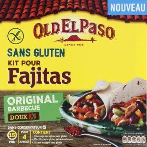 Old el paso Kit pour Fajitas sans gluten original barbecue doux