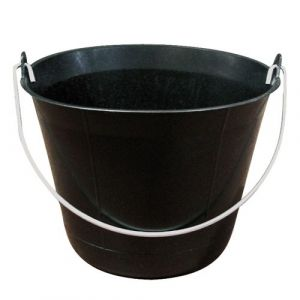 Taliaplast Seau maçon - plastique - noir - 11 L