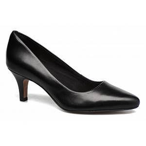 Clarks Isidora Faye, Escarpins Femme, Noir (Black Leather-), 42.5 EU