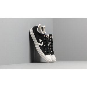 Converse Chaussures casual unisexes Star Player basses en toile Canvas/Suede Noir - Taille 42,5