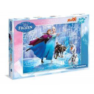 Clementoni La Reine des Neiges - Puzzle 100 pièces XXL (modèle 1)