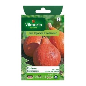 Vilmorin Potiron Potimarron - Sachet graines