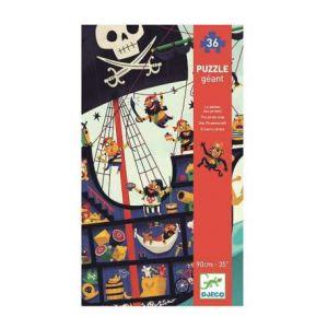 Djeco Puzzles géants - le bateau des pirates