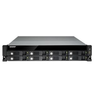"Qnap TS-870U-RP - Serveur NAS rackable 2U 8 baies 2.5""/3.5"" Ethernet"