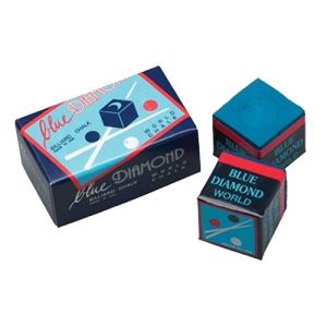 Longoni Craie de billard Blue Diamond 2 pièces
