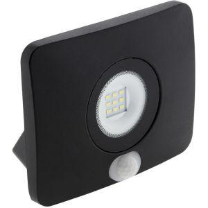 Elexity Projecteur LED étanche 10W avec détecteur noir