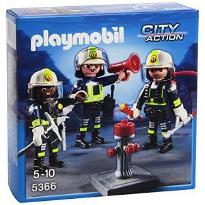 Playmobil 5366 City Action - Unité de pompiers