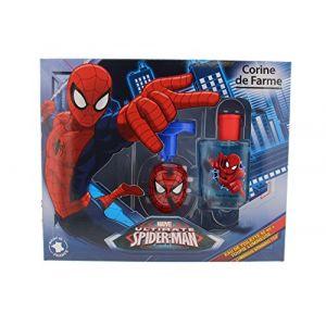 Corine de Farme Spiderman - Coffret eau de toilette et toupie lumineuse