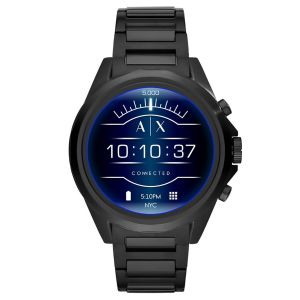 Armani Exchange Connected Touchscreen Black
