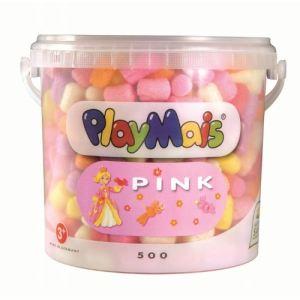 PlayMais Seau de 500 flocons Princesse